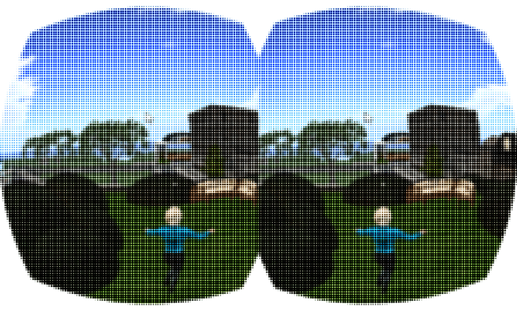 screen door effect