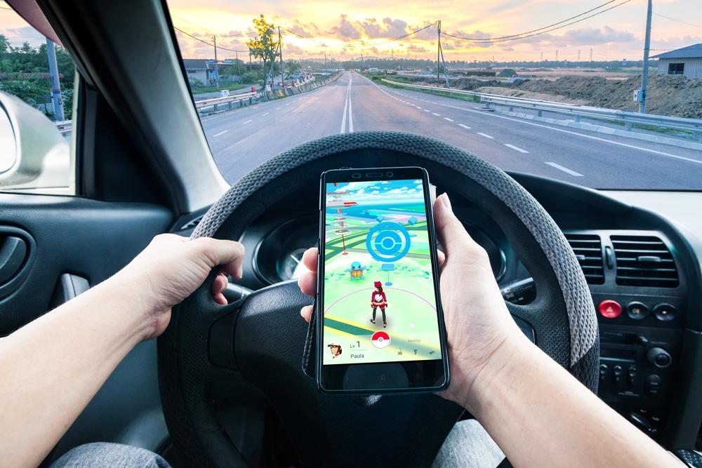 pokémon go voiture accidents