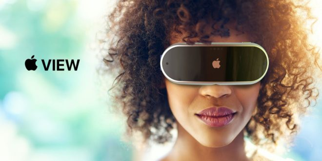 apparence casque VR/AR Apple