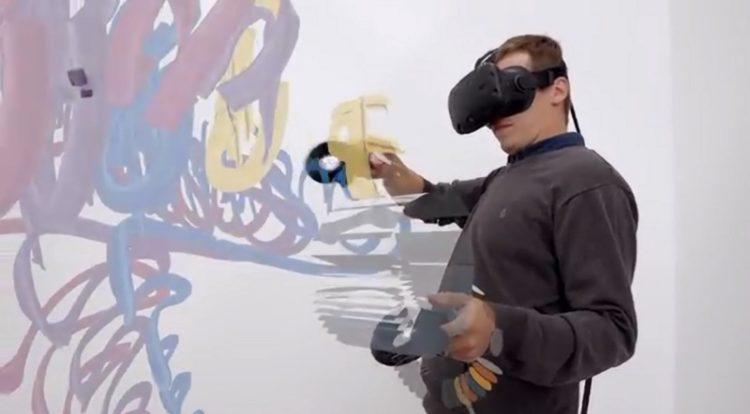 peindre en VR