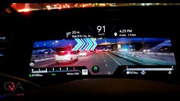 Système de navigation AR de Cadillac Escalade 2021