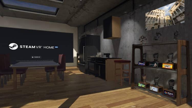Steamvr home