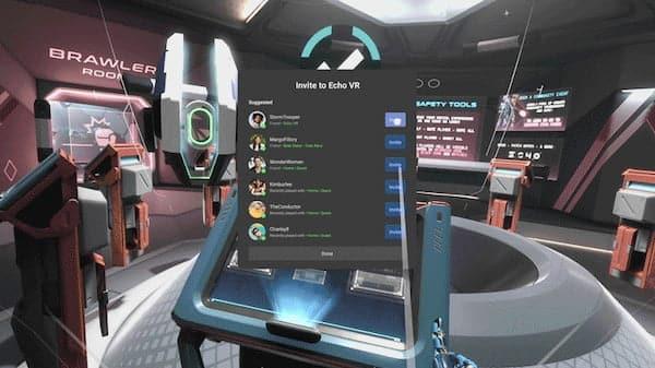 Mise à jour V 31 Oculus