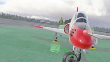 réalité virtuelle aéronautique