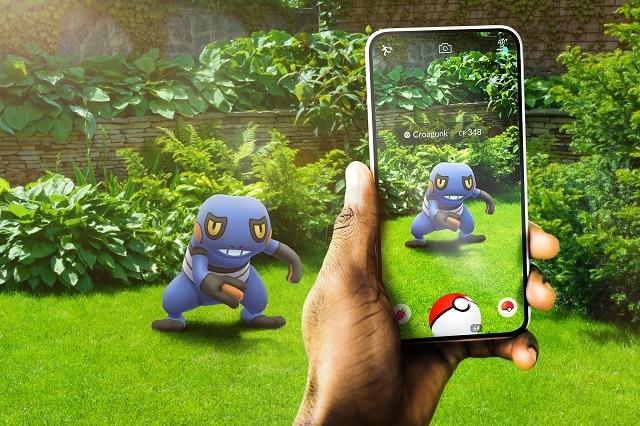 jeux AR comme pokémon go