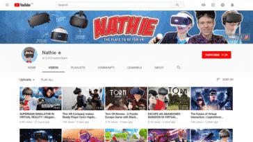 Youtube chaînes VR