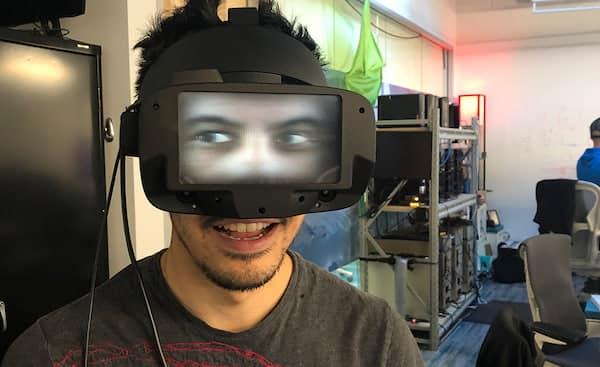 reverse passthrough VR