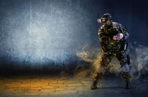 VR secteur militaire