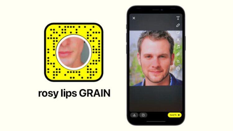 rosy lips GRAIN