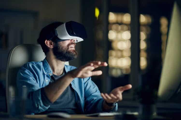 travailleur réalité virtuelle